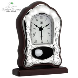 Reloj sobremesa plata