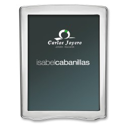 Portafoto  de plata Isabel Cabanillas