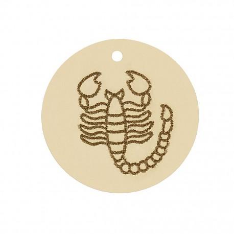 Abalorio Escorpio Oro