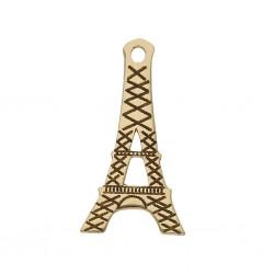 Abalorio Torre Eiffel Oro