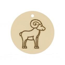 Abalorio Aries Oro