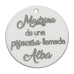 Abalorio Madrina Plata