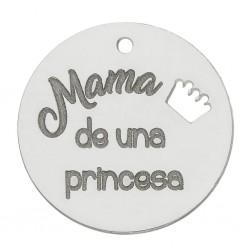 Abalorio Princesa Plata